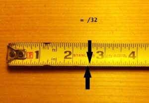 How to read a tape measure and tape measure increments thirty seconds