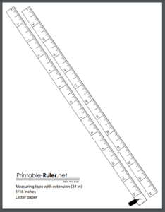 picture about Free Printable Ruler known as The Easiest Printable Measuring Tapes: A Listing Of 3 No cost