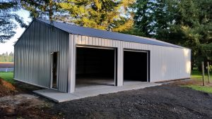 how much does a pole barn cost per square foot from start to finish