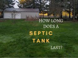 how long does a septic tank last