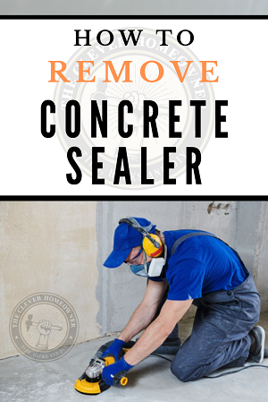 how to remove old concrete sealer from cement floor