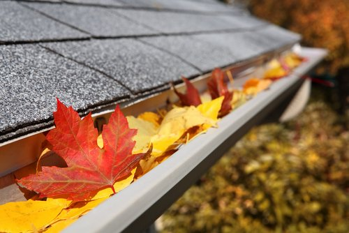 how to clean gutters from the ground
