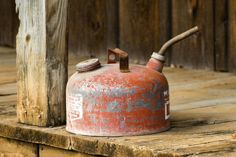 mixing old gas with new gas