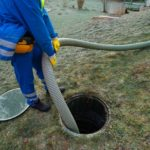 septic tank backed up after pumped