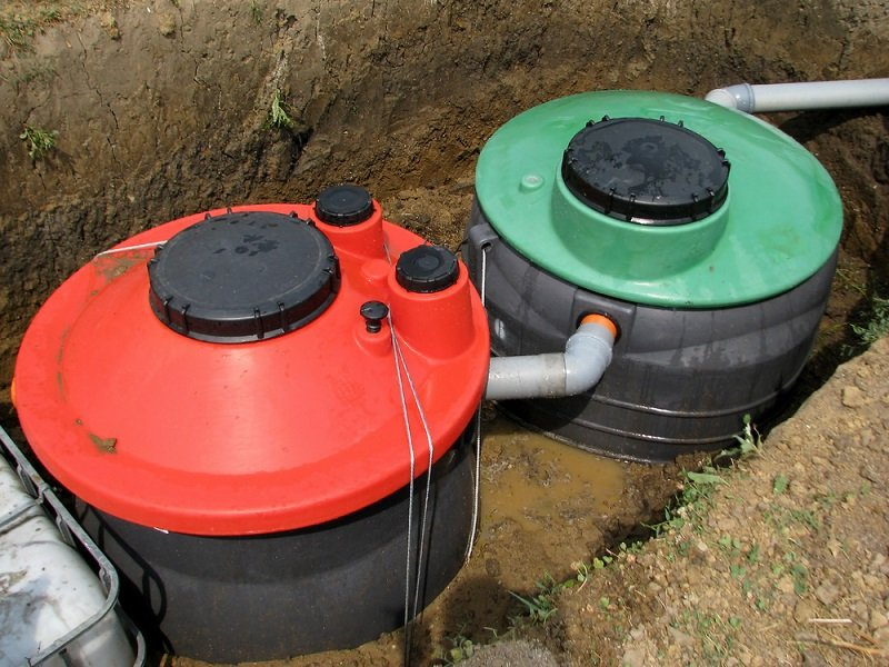 different types of septic tanks