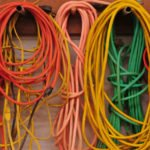 tips ideas how to store long extension cords