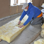 how to clean fiberglass insulation dust