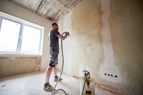 can you paint over nicotine and smoke stained walls