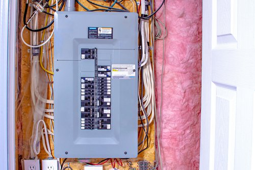 how to locate breaker panel in house