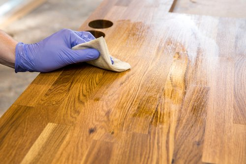 best stain for wood countertops