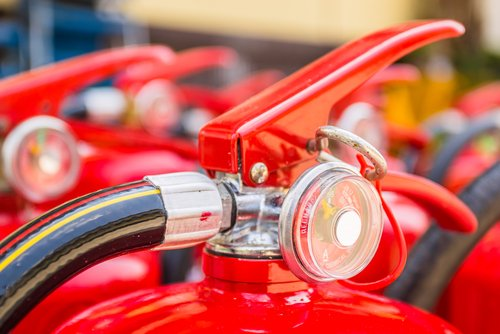where to fill a fire extinguisher