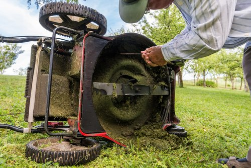 replacing lawn mower blades with non OEM blades