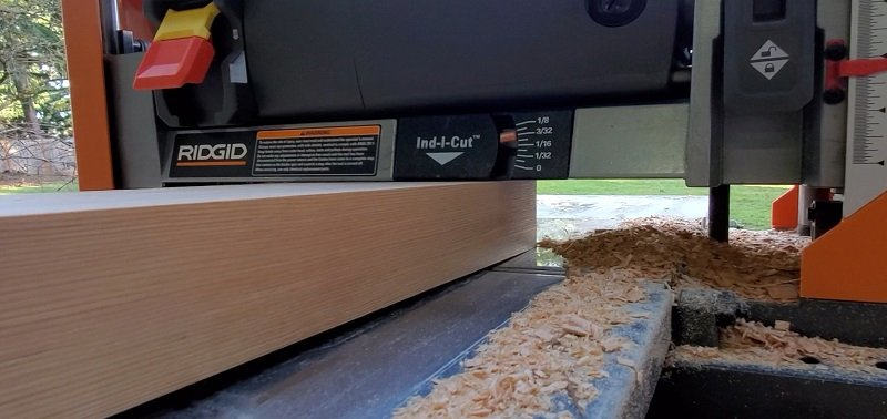 What is Wood Planer Snipe and how to avoid it