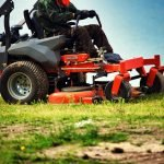 lawn mower with rollers