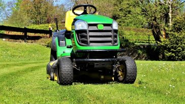 why lawn mowers have headlights