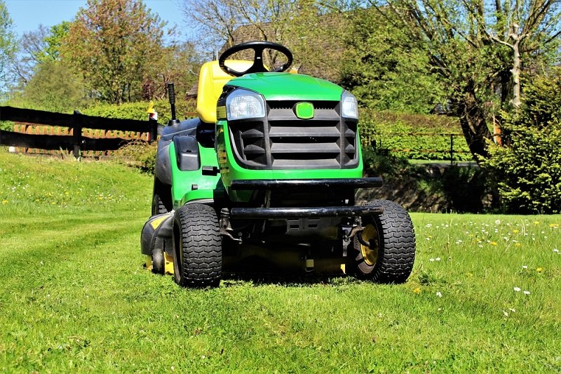 why lawn tractors have headlights