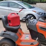 gas for lawn mower and car the same