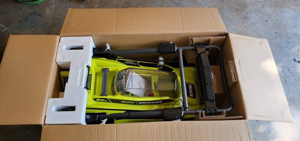 ryobi battery powered lawn mower review
