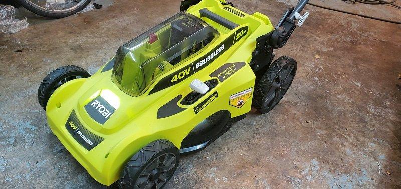 Ryobi 20 inch 40 Volt brushless lawn mower review